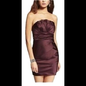 Express Strapless Pleated Dress 12